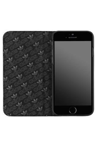 "ADIDAS BOOKLET CASE FOR IPHONE 6 / 6S (4.7"") - BLACK/SILVER"