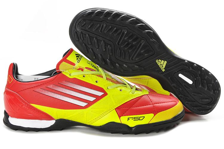 Adidas F50 adiZero miCoach Leather TF 2011 Mens Indoor Futsal ...