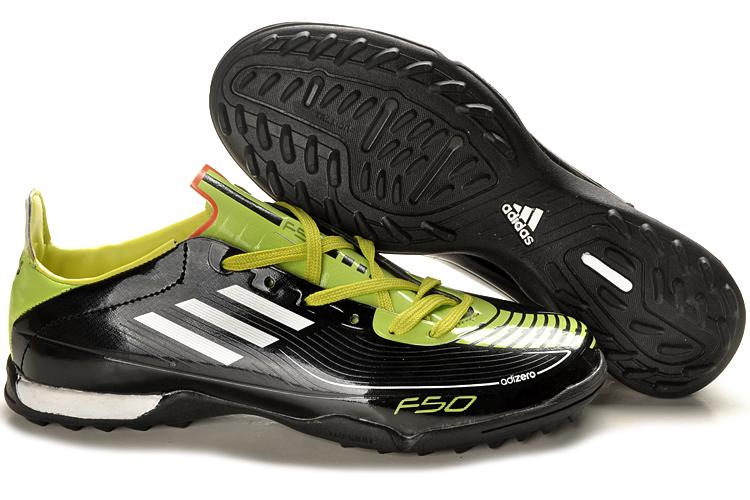 Adidas F50 AdiZero TF Black 2011 Indoor Futsal Shoes (OTHERS, end ...