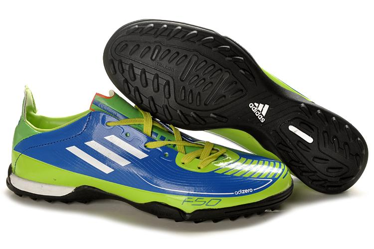 Adidas F50 adiZero TF Blue 2011 Indoor Futsal Shoes (OTHERS, end ...