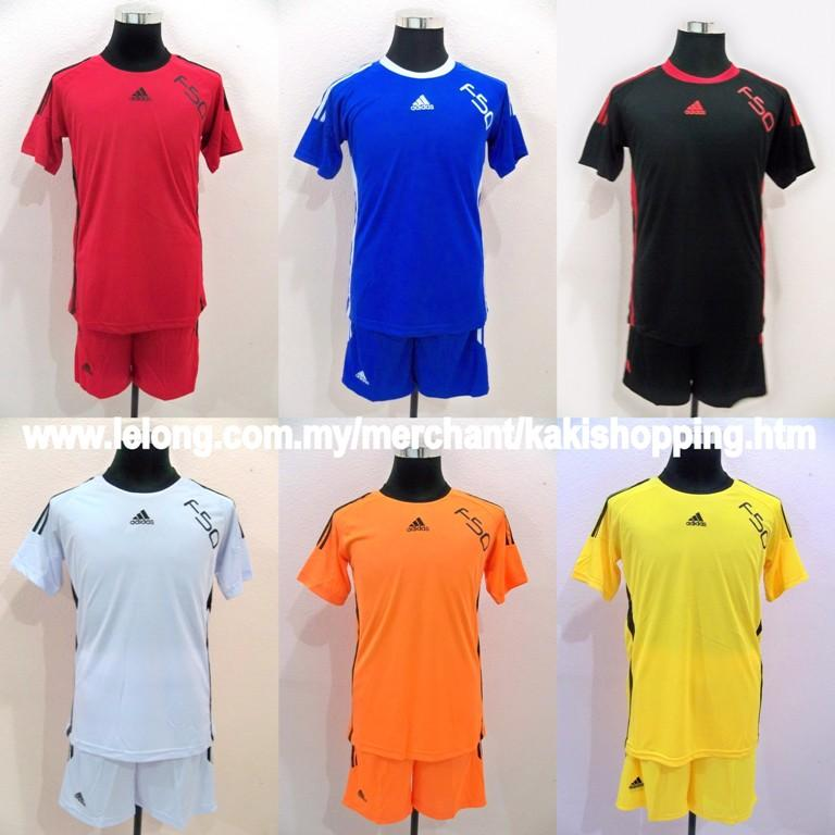 Adidas F50 Team Jersey/Jersi-Min 8 unit-Jersey+Short+Socks+Name & Play..