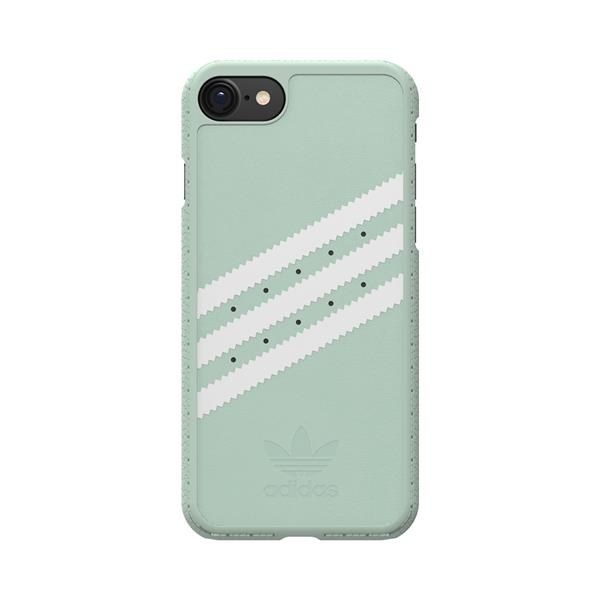 ADIDAS MOULDED CASE FOR IPHONE 7 - VAPOUR GREEN/WHITE