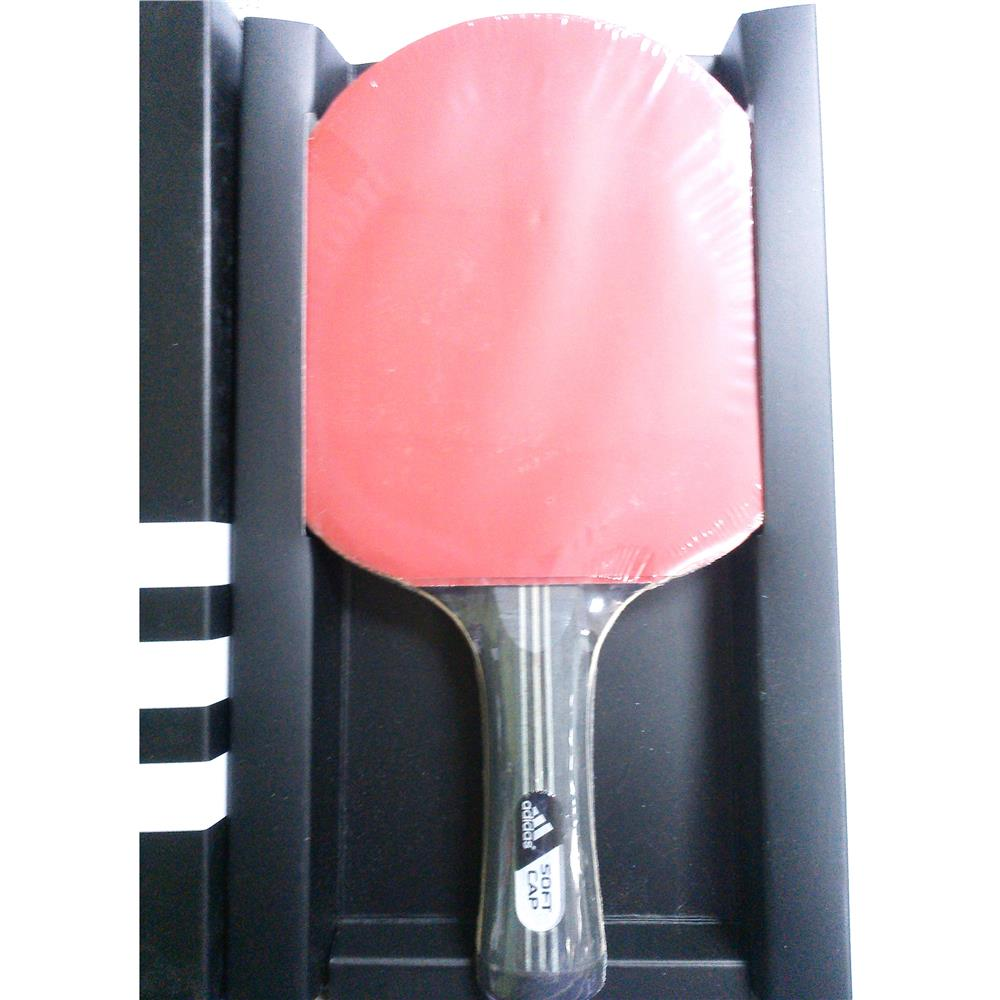 ADIDAS ORIGINAL CLUB Table Tennis Bat with Red & Black Rubber Covering