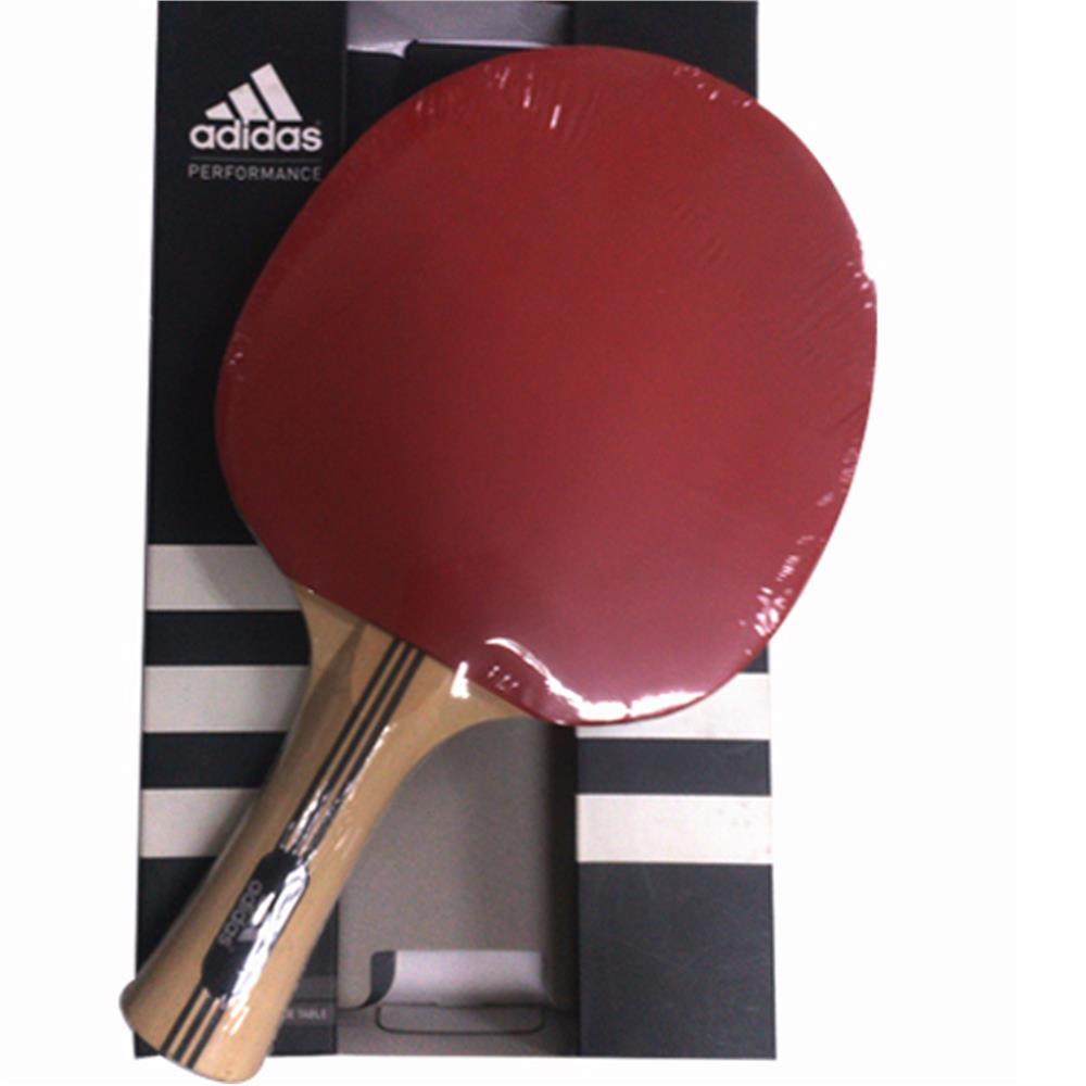 ADIDAS ORIGINAL STAR Single Table Tennis Bat with Red & Black Rubber C
