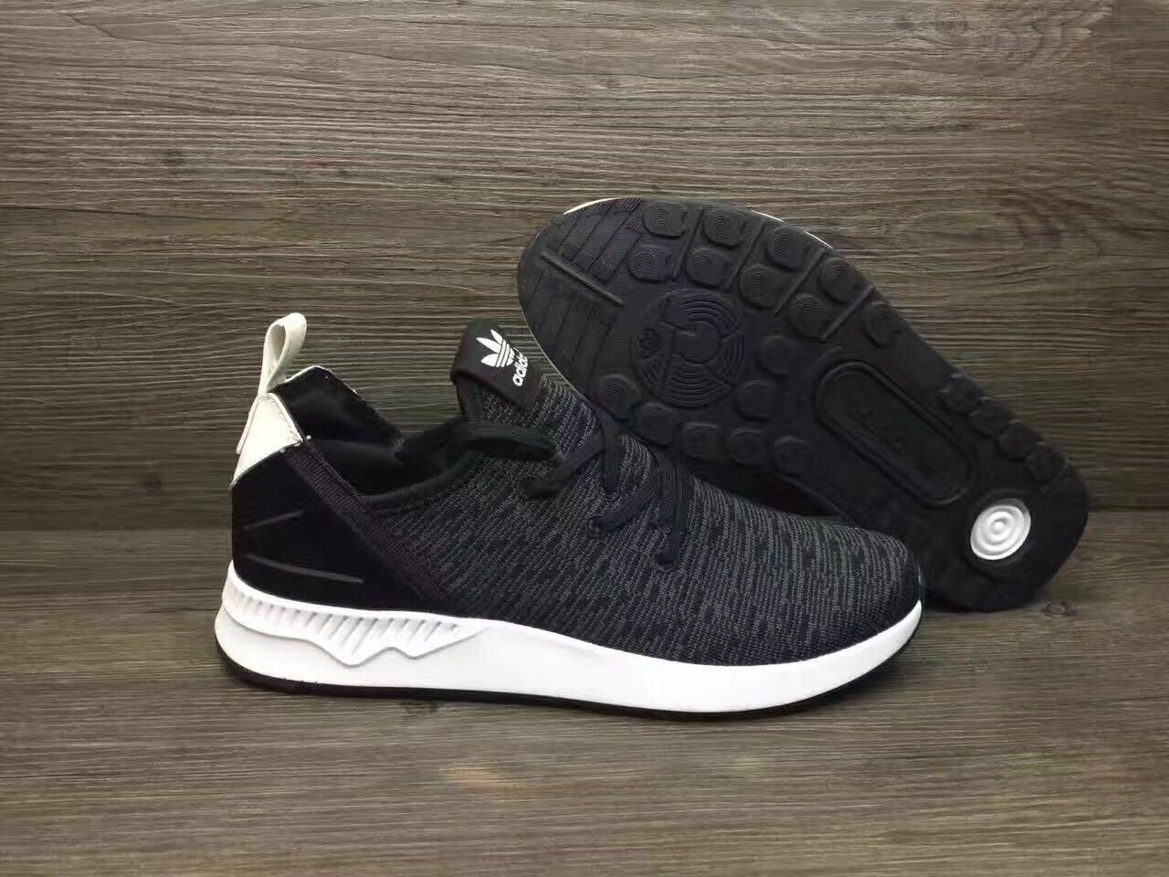 Adidas Shoe ZX FLUX Knitted Surface Black