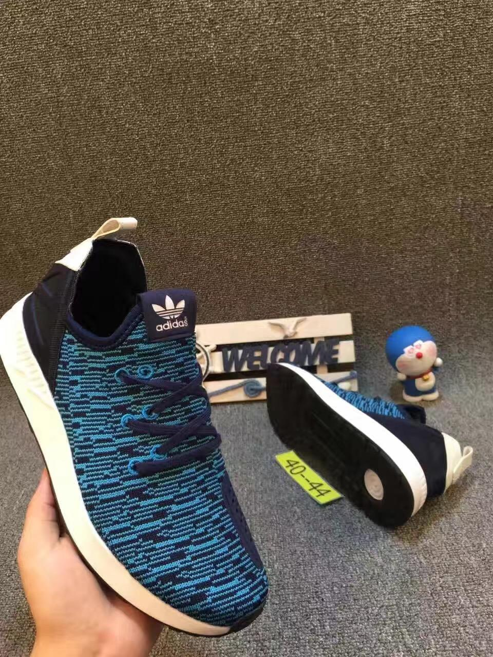 Adidas Shoe ZX FLUX Knitted Surface Blue