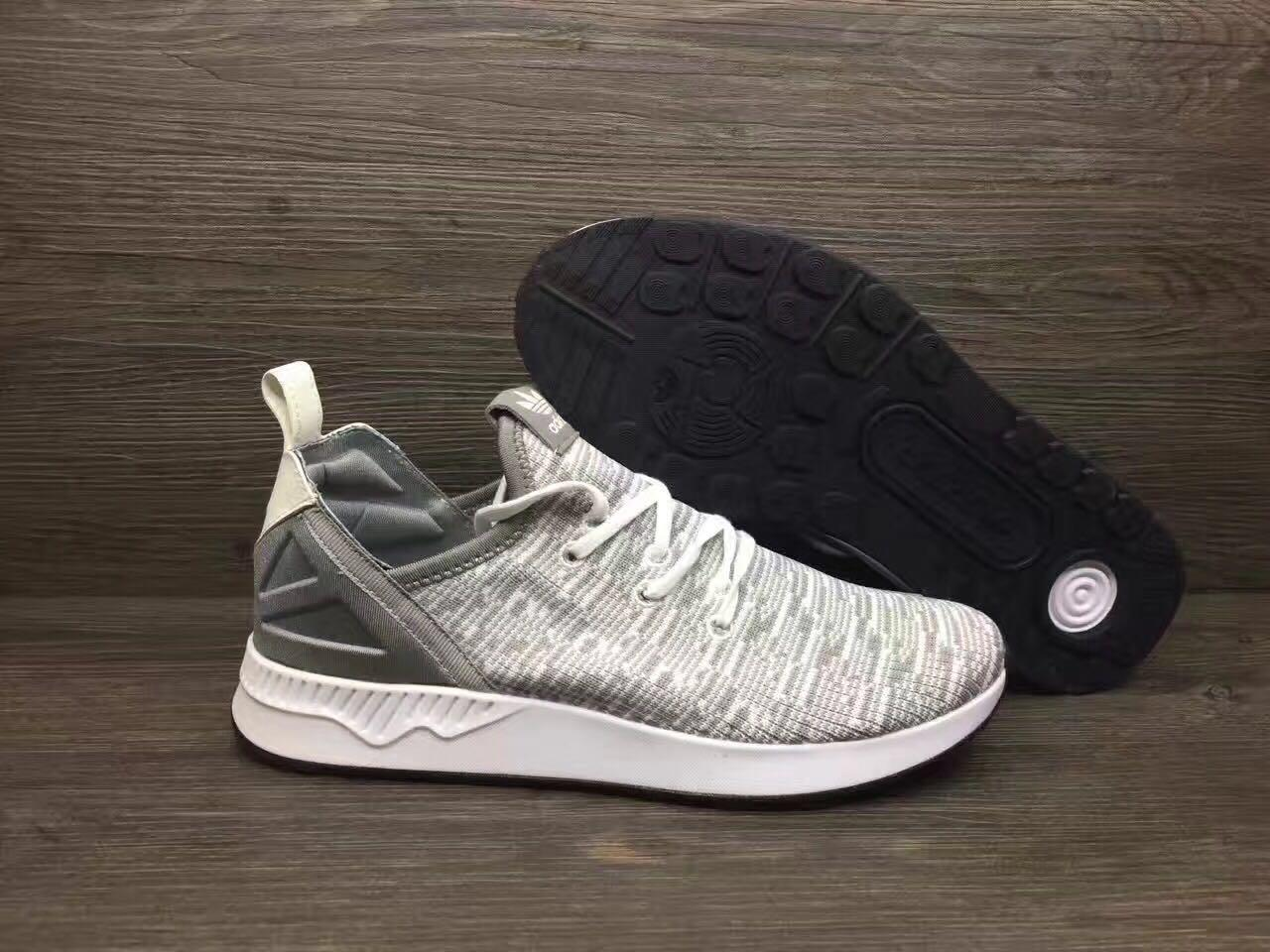 Adidas Shoe ZX FLUX Knitted Surface Grey