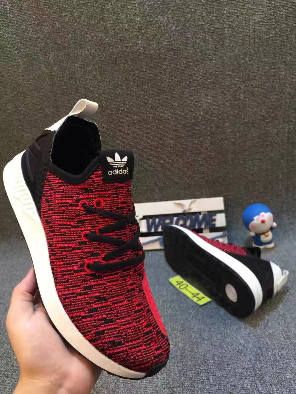 Adidas Shoe ZX FLUX Knitted Surface RED