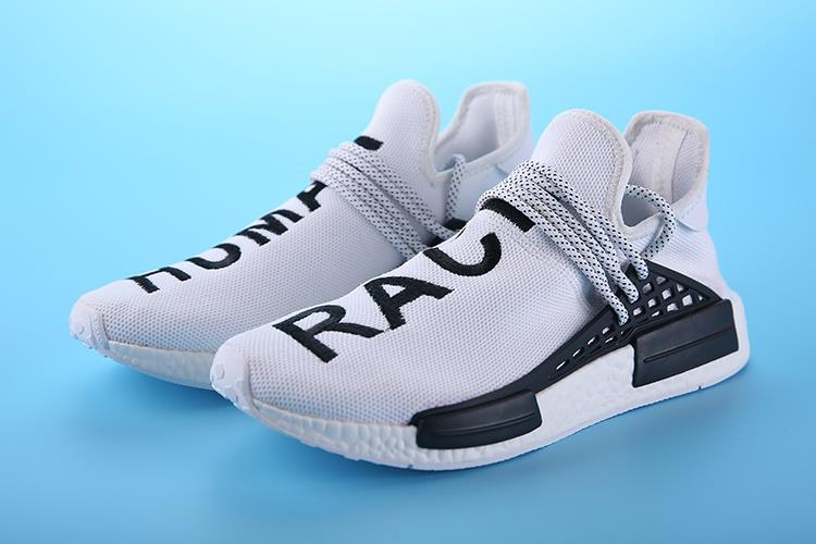 Adidas Shoes Human Race White