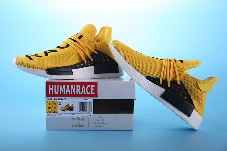 Adidas Shoes Human Race Yellow