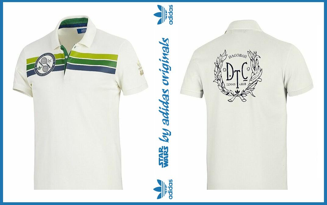 ADIDAS STAR WARS | LIMITED EDITION DAGOBAH TENNIS CLUB POLO TEE | P016..