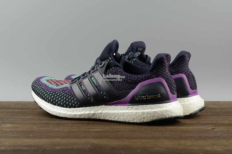 Adidas Ultra Boost Night Navy&Shock Purple