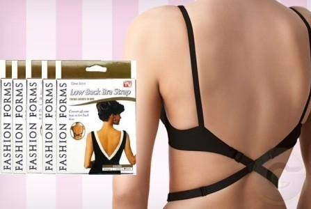 Adjustable Low Back Bra Strap