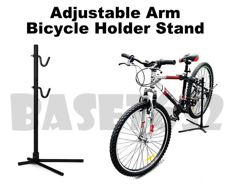 Adjustable Height 6 Holes Arm Bicycle Bike Hanger Rack Holder Stand