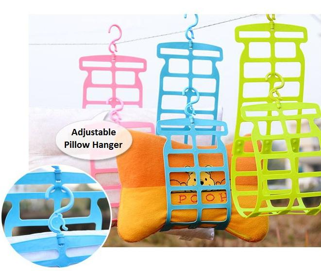 Adjustable Pillow Soft Toy Hanger Extendable