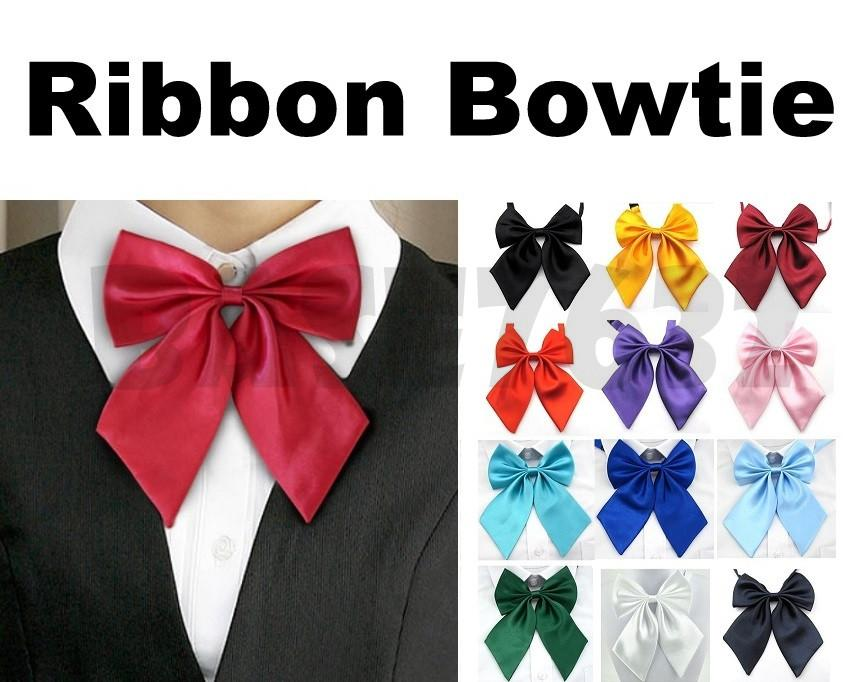Adjustable  Ribbon Butterfly Bow Tie Bowtie Knot Necktie Neck Tie