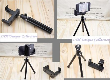 Adjustable Smart Phone Stand Holder mini Tripod For iPhone/camera