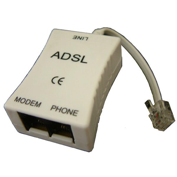 ADSL SPLITTER MICROFILTER FOR TELEPHONE LINE, F319