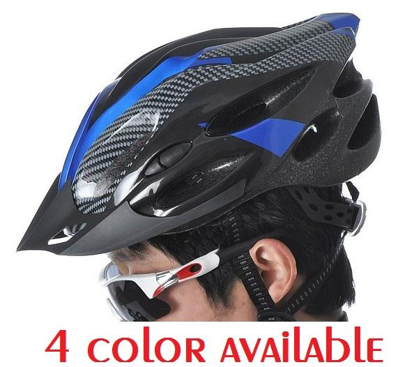 NEW ADULT BICYCLE HELMET WITH HEAD LOCK & VISOR SAFETY EQUIPMENT NEW