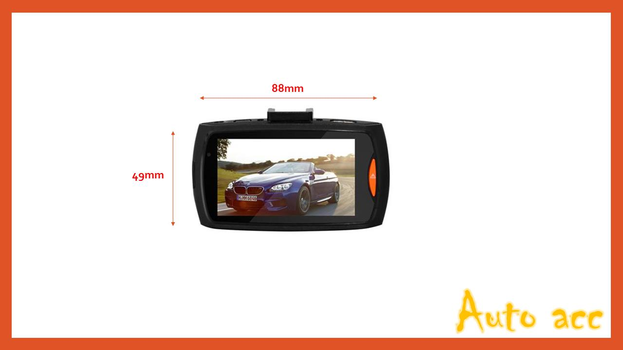Advanced Portable HD Car Camcorder ~ 2.7 inch screen
