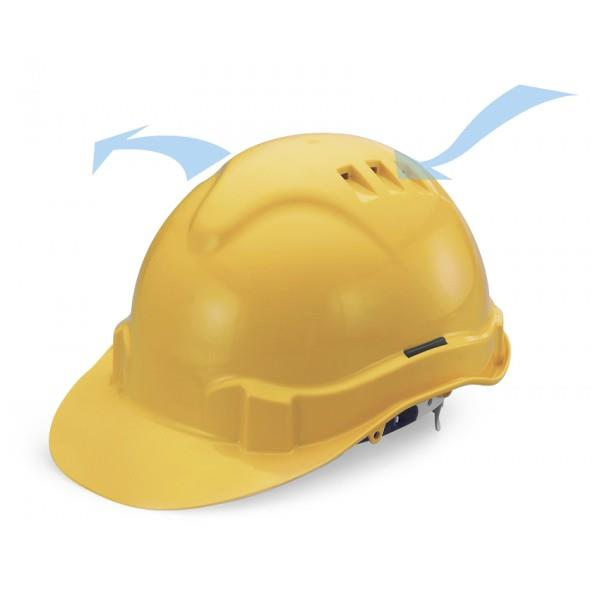 ADVANTAGE 2 INDUSTRIAL SAFETY HELMET-SLIDE LOCK