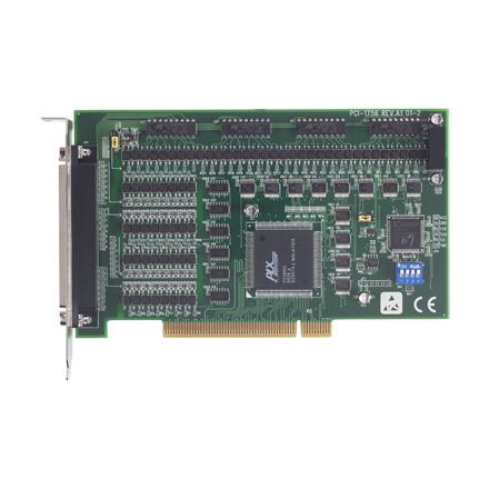 Advantech PCI 1756  64ch Isolated Digital I/O PCI Card
