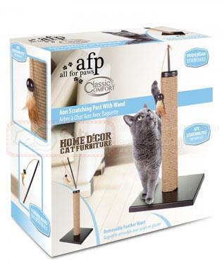 AFP Classic Comfort Aon Scratching Post With Wand
