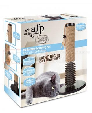 AFP Classic Comfort Aon Scratching Post With WandMochachino Scratching