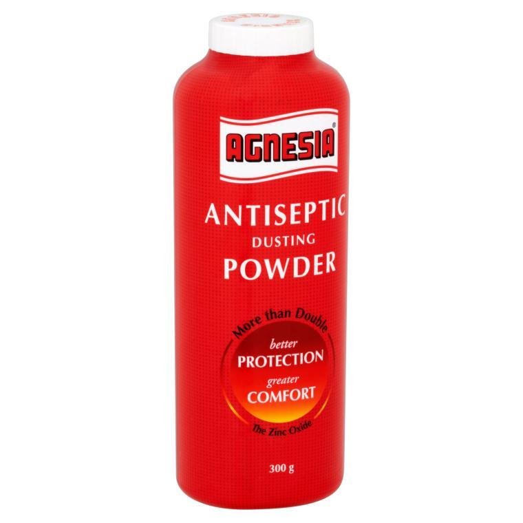 AGNESIA ANTISEPTIC POWDER 300G , for Prickly Heat & Heat Rash
