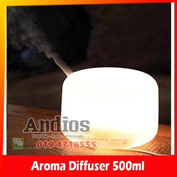 AH Big Aroma Therapy Humidifier fragrance lamp Diffuser 500ML Muji Big