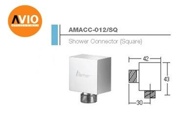 AIMER MALAYSIA AMACC-012/SQ SQUARE SHOWER CONNECTOR