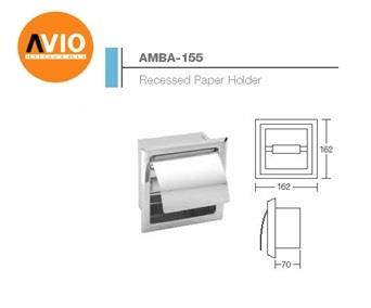 AIMER MALAYSIA AMBA-155 RECESSED PAPER HOLDER
