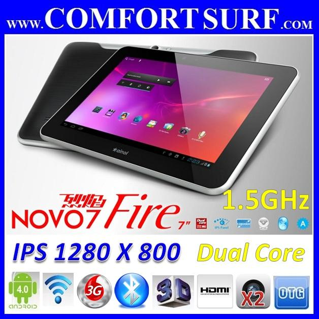 Ainol Novo7 FIRE IPS 2 CORE 1.5GHz 1GB RAM Android 4.0.4 Aurora ELF