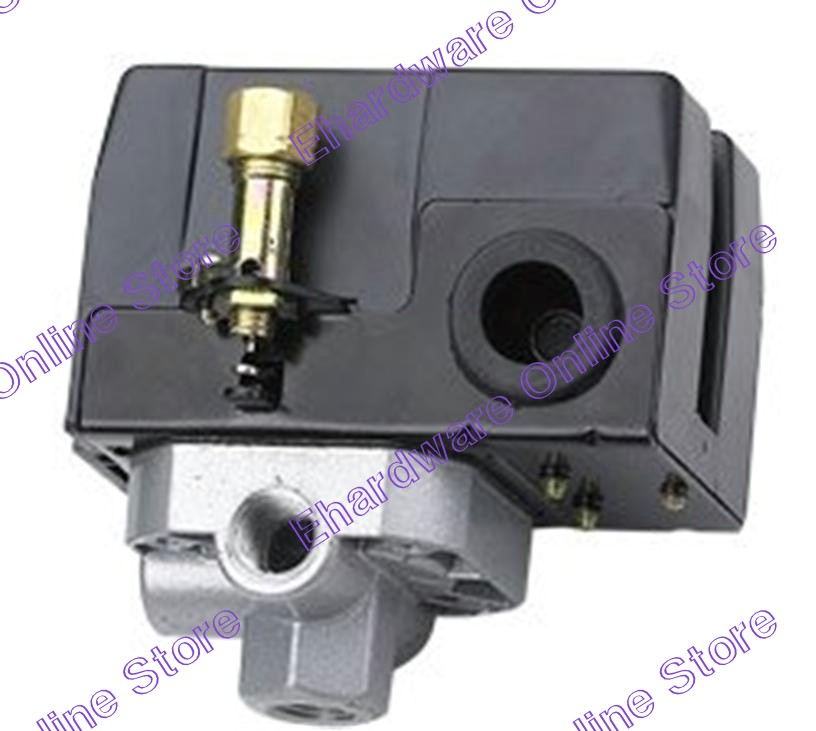 Air Compressor 4Ports Lever Type 1/4' Pressure Switch Unit (PS64)
