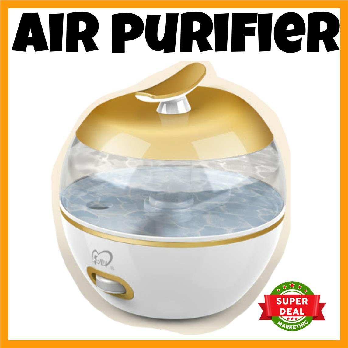 Air Purifier Humidifier 3.2L Home Mom Baby Care