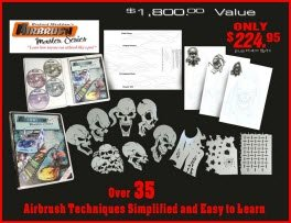 Airbrush Tutorials Collection