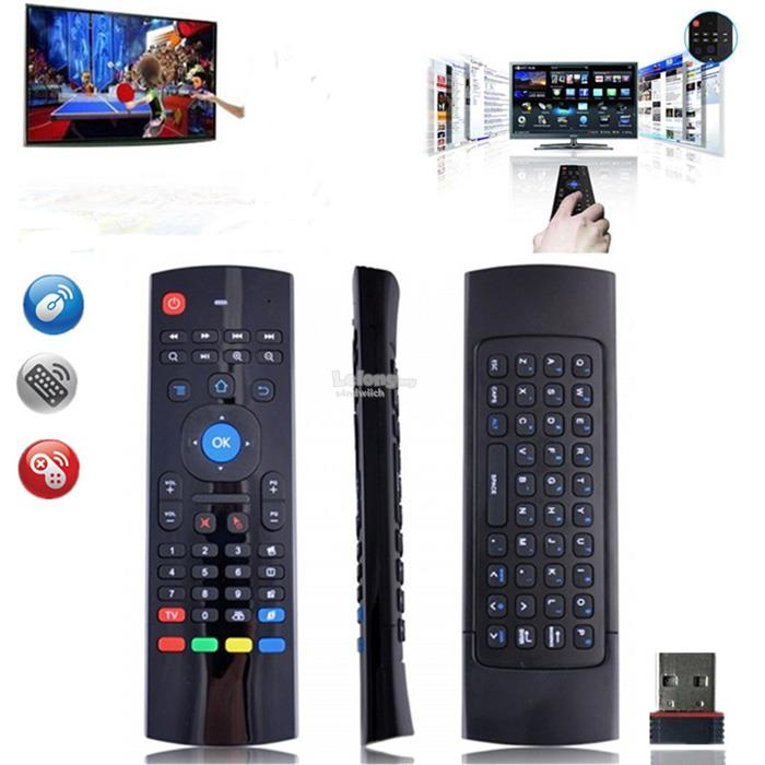 Airmouse H9 MX3 C120 T8 wireless 2.4G for Android TVbox Win SmartTV  M