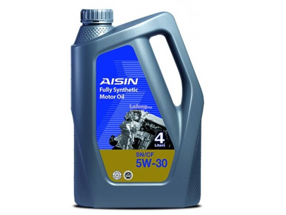 Aisin sn cf 5w30 full synthetic engin end 8 6 2017 3 50 pm for 5w30 motor oil sale