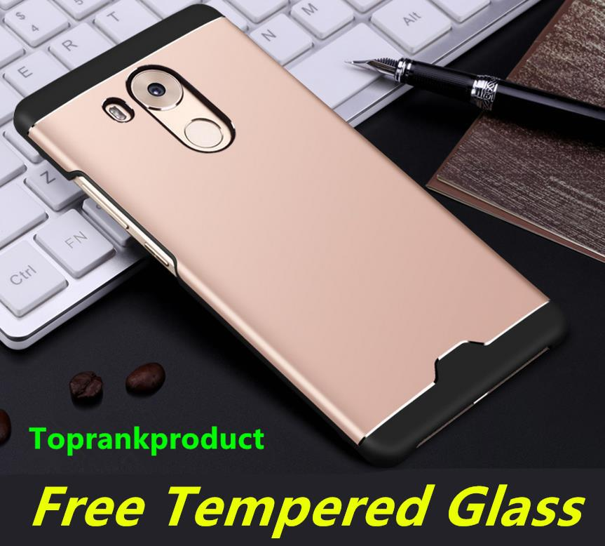 Aixuan Huawei Mate 8 Metal Case Cover Casing + Free Tempered Glass
