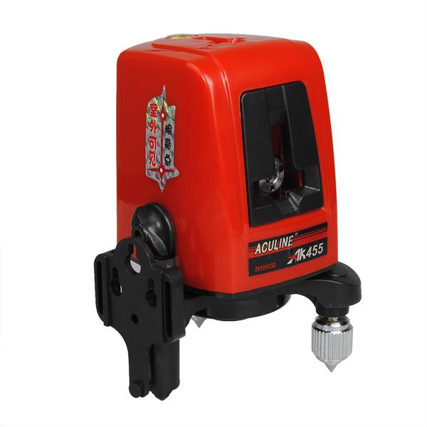 AK455 360degree Self-leveling Cross Laser Level Red 3 Line 3 Point