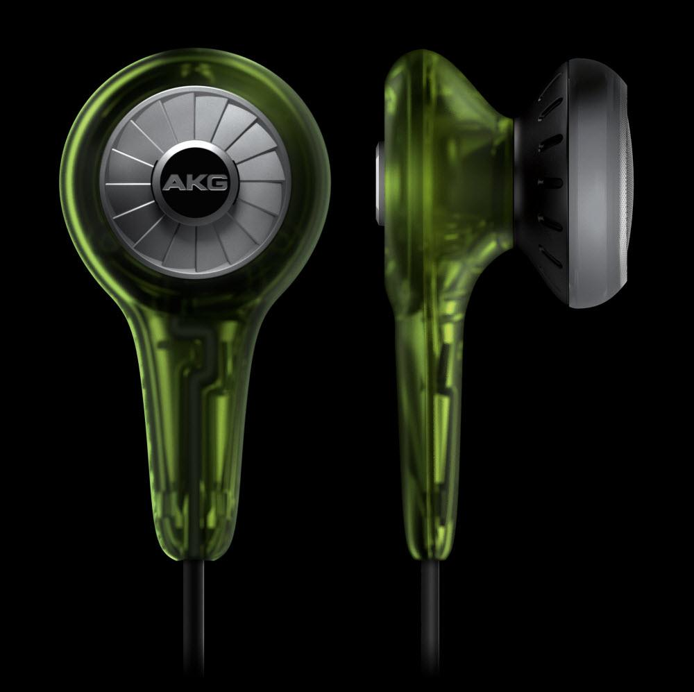 AKG K 311 Lime ^ In-Ear Buds Earphones - Powerful Bass ^ Free S&H