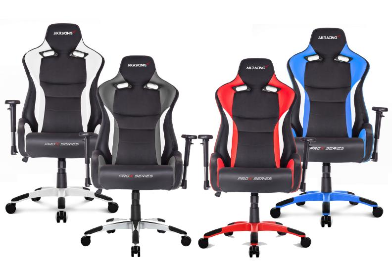 Akracing prox gaming chair blue red grey w end 3 for Chaise gamer pc