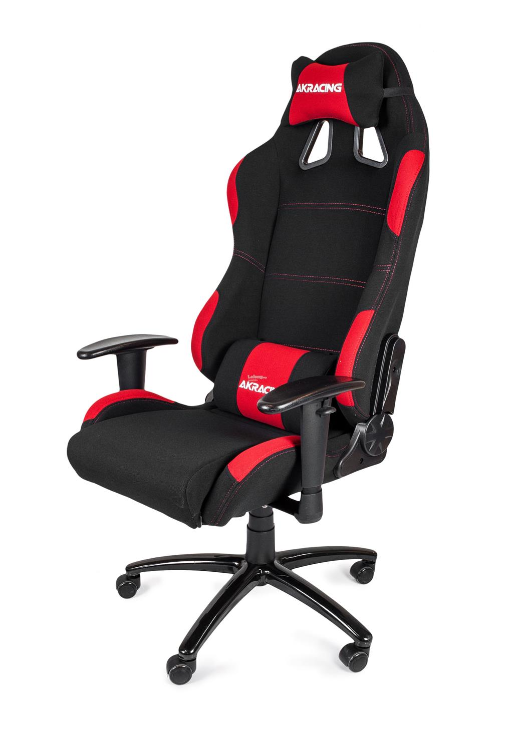 AKRACING SPEED K701A GAMING CHAIR (FABRIC) BLACK + RED