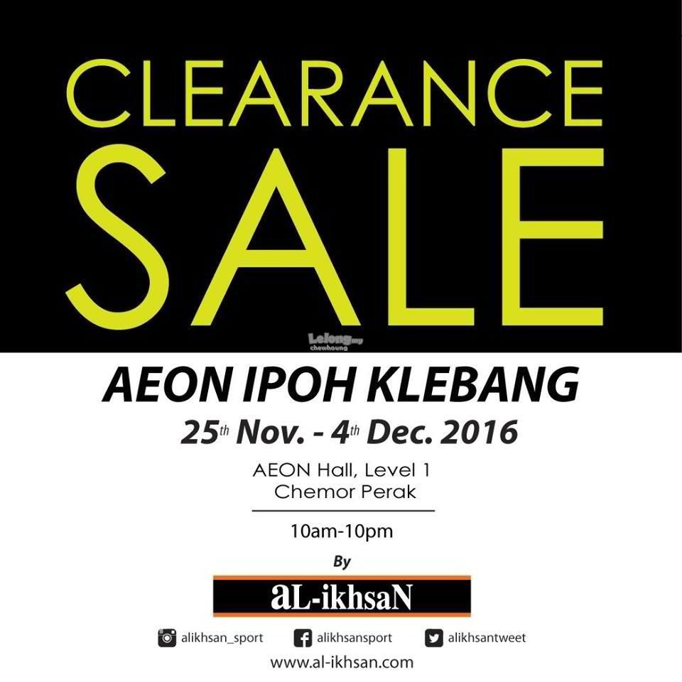 Al-Ikhsan Clearance Sale