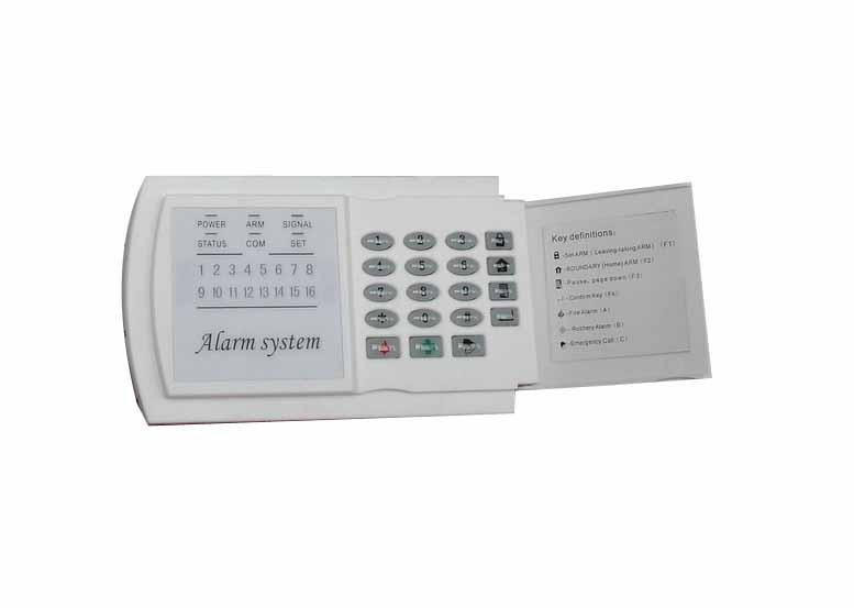 ALARM LED KEYPAD 16 ZONE