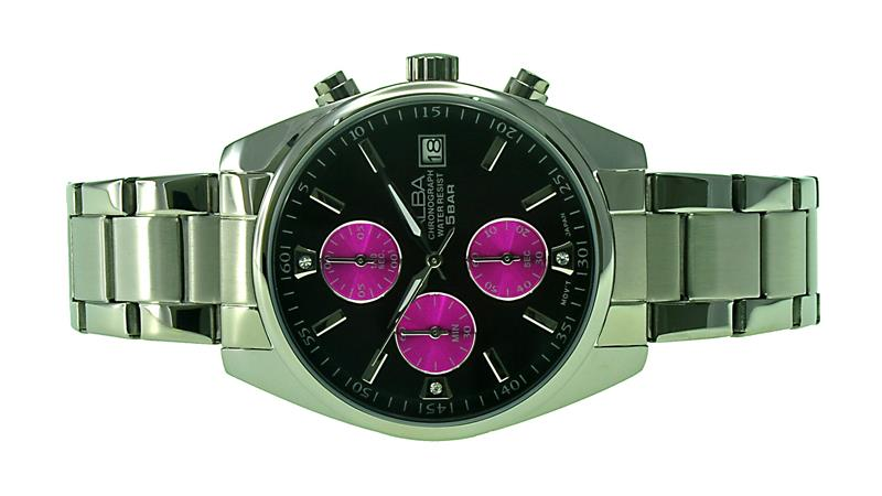 Alba Ladies Chronograph Watch VD57-X055PBSS