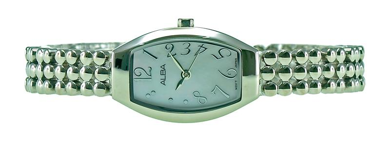 Alba Ladies Stainless Steel Watch VJ21-X073WSS