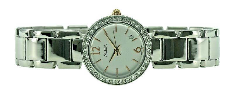 Alba Ladies Swarovski Crystal Watch VJ22-X182SRGS