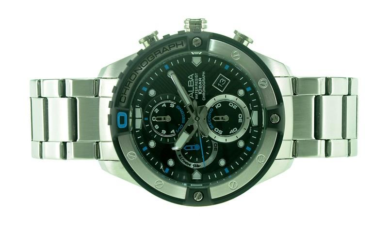 Alba Men Chronograph Sign A Watch VD57-X071BBLS