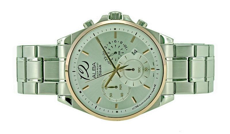 Alba Men Chronograph Watch VD53-X251SRGS